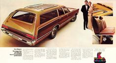 Station Wagon with the rear facing seat. You never felt like you were getting anywhere.