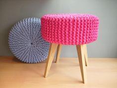 Farbenfroher Hocker / colorful stool by MySoul via DaWanda.com