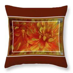 Autumn Glory pillow by Sandra Huston