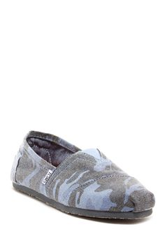 Camo Classic Slip-On Shoe by TOMS on @HauteLook
