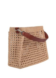 Kamel Women Bag- File Pack Kamel Kadın Çanta Kamel Women B Crochet Tote, Crochet Handbags, Crochet Purses, Knit Crochet, Crochet Stitches Patterns, Crochet Designs, Tote Pattern, Knitted Bags, Purses And Bags