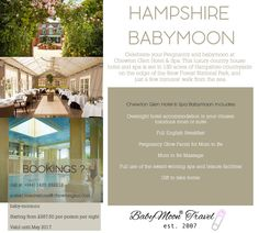 Celebrate your #Pregnancy with a Hampshire #Babymoon at Chewton Glen Hotel & Spa