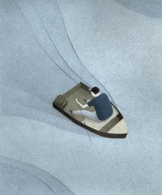Illustrations by Naftali Beder from Astoria, New York: