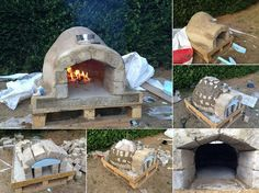 This diy project is for all our food lovers who love the taste of a freshly made pizza, just taken out from the oven. You can really make your own pizza in the backyard by building this oven and do some parties by inviting friends over and surprising them in a creative way. Materials and