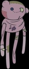 Hambo ( marcelines doll/bear ) adventure time