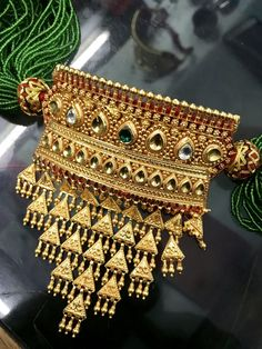 Ethnic Vintage Antique Tribal Old Gold Silver Gemstone Ruby Diamond Emerald Necklace Choker Bangle Bracelet Cuff Earrings Ear Studs Ring Strands Beads Jewelry Jewels Jewellery Antique Jewellery Designs, Gold Jewellery Design, Gold Jewelry, Diamond Jewelry, Jewelry Shop, Vintage Jewelry, Rajputi Jewellery, Gold Mangalsutra Designs, Indian Jewelry Earrings