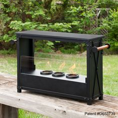 Boston Loft Furnishings ATG3485 Dutton Portable Indoor/Outdoor Fireplace at ATG Stores