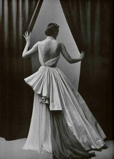 Evening gown, 1952