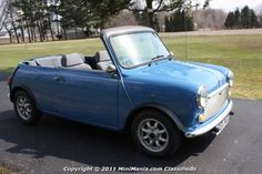 1966 Austin Mini Convertible - I want one!