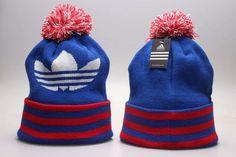 Adidas Winter Outdoor Sports Warm Knit Beanie Hat Pom Pom Adidas Cap 0f42bfe185d2