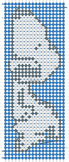 Snoopy friendship bracelet pattern number - For more patterns and tutorials visit our web or the app! Snoopy friendship bracelet pattern number - For more patterns and tutorials visit our web or the app! Alpha Patterns, Loom Patterns, Beading Patterns, Loom Bracelet Patterns, Friendship Bracelets Designs, Bracelet Designs, Embroidery Floss Bracelets, Bracelet Fil, 8bit Art