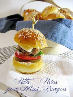 J'en reprendrai bien un bout...: (Petits) Pains Express pour (Mini) Burgers