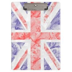 Union Jack Flag Clipboard