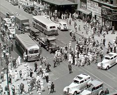 New York in the mid to late 1930s