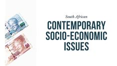 Click here to learn about South African Socio-Economic Issues | Socio-economic issues are problems that result from certain aspects in society and the economy. They have a negative influence on communities and businesses. In South Africa, these include HIV/AIDS, poverty and unemployment. Companies must work with the government to address these issues · Explanations by Nonjabulo Tshabalala, a qualified South African Business Studies teacher. This is the header image or poster for the article. Past Exam Papers, Past Exams, Organizational Structure, Pyramid Scheme, Business Studies, Header Image, Information Graphics, Study Notes, Business Opportunities