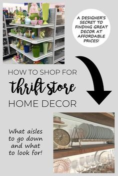 The Best Home Decor To Look for at Thrift Stores - Joyful Derivatives Thrifty Decorating / Budget-Friendly Decor / Affordable Decor / Cheap Decor / Frugal Decorating