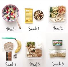 20 Healthy Meal Prep, Healthy Snacks, Healthy Eating, Healthy Recipes, Clean Recipes, Snack Recipes, Love Food, The Best, Protein