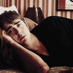 Lee Pace as Ned in Pushing Daisies.  He has the best facial expressions.