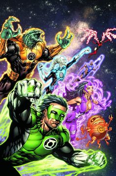 Green Lantern New Guardians (2011) Issue #2