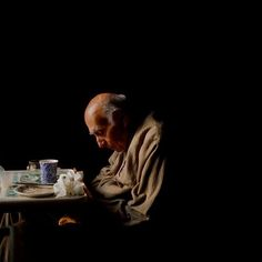 The London-based photographer Lydia Goldblatt began photographing her father in 2010. He was ninety-one years old and his health had begun to deteriorate. She continued to take pictures of her parents and of their home in Hampstead London until her fathers death in 2013. The New Yorker  Still Here by Lydia Goldblatt [1/4] #art #photography