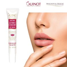 Soft and supple lips IN ANY WEATHER. GUINOT's LÈVRES CONFORT LIP BALM acts as a protective film against external aggressors (cold, wind, sun...) to relieve sensations of discomfort, repair, rehydrate and replump the lips.  Its melting texture brings comfort and suppleness to the skin. Instantly rehydrated and lastingly protected, the lips are softer and smoother. Ask your Aesthetician how you can get your FREE Lip Balm today (Value $32)