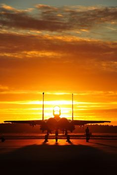 An F-15 Eagle from Seymour Johnson Air Force Base, N.C., sits on the flightline before an early morning training sortie Sept. 17, 2015, at Tyndall AFB, Fla. The unit traveled to Tyndall AFB to participate in the Combat Archer exercise, a weapons system evaluation program designed to test the effectiveness of our Airmen and air-to-air weapon system capability of combat aircraft. (U.S. Air Force photo by Senior Master Sgt. Beth Holliker/Released)