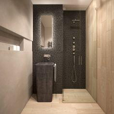 Baños minimalistas de FAMM DESIGN #bathroom