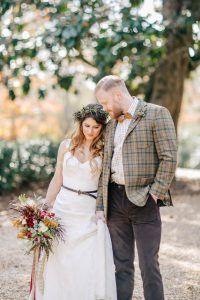 Autumn Bohemian Plantation Wedding Inspiration at Vinewood Plantation in Newnan, GA - The Celebration Society