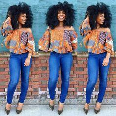 classy-ankara-styles-nigerian-wedding-large-sleeves-off-shoulder-top34