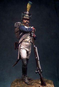 Volteggiatore di un rgt. di fanteria della linea francese
