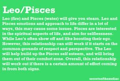 i am a leo..who is my pisces? lol