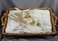 Boy's Baptismal set-Ladopana-Orthodox Baptism-Greek Baptism-baptismal candles by… Baptism Party, Twins, Unique Jewelry, Handmade Gifts, Etsy, Christening Party, Kid Craft Gifts, Craft Gifts, Costume Jewelry