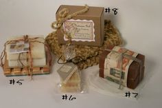 Cool Soap Wrapping Ideas