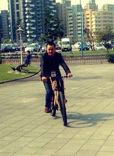 #lecatpista #fixedgearsaigon #sandwichbike #woodbike
