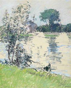 Gustave Caillebotte, Bord de Seine à Argenteuil, 1890