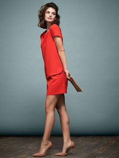 Piperlime Collection Fall 2014 Layered Shift Dress $79