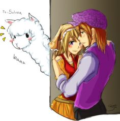 harvest moon tale of two towns lillian and - Google Search