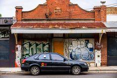 The Car Nextdoor Seddon, Melbourne Australia September 2014