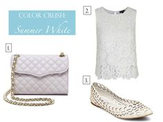 Color Crush: Summer White | www.eatshoplivenyc.com