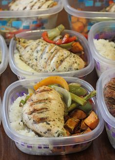 •Cilantro Chicken over rice (or mashed cauliflower) with roasted sweet potatoes and balsamic mixed vegetables.