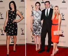 Jessica Paré, Joanne Froggatt, Michelle Dockery, and Brendan Coyle spotted at The Academy Of Television Arts & Sciences Writer Nominees' 64th Primetime #EmmyAwards Reception at Academy of Television Arts & Sciences on September 20, 2012 in North Hollywood, California.