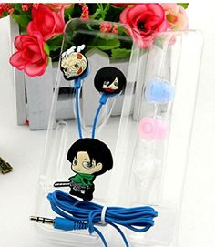 Vineds Anime Attack on Titan Earphones Cartoon In-ear Headphones Headset (Corporal) Vineds http://www.amazon.com/dp/B00X6ZU2HC/ref=cm_sw_r_pi_dp_ysuQwb1NDH6P4