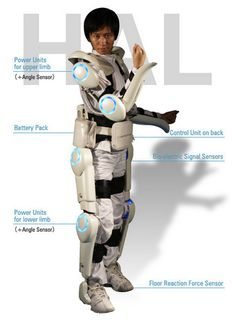 Read about the future of human exoskeletons.