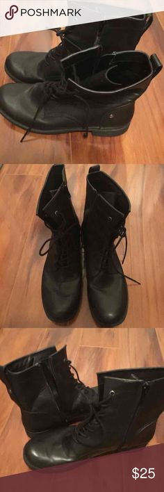 Calvin Klein Ladies Black Boots Size 10 Never Worn Ladies Black Boots by CK Size 10 Calvin Klein Shoes Ankle Boots & Booties