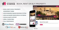 Casa – Book, Rent or Buy Property (Real Estate) Download  uouapps, book, bootstrap grid, clean, dream, flat, holiday, leisure, modern, portal, real estate, rent, social, swap, travel download