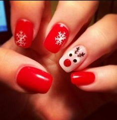 Ready to decorate your nails for the Christmas Holiday? Christmas Nail Art Designs Right Here! Xmas party ideas for your nails. Be the talk of the Holiday party with your holiday nail designs. Christmas Gel Nails, Christmas Nail Art Designs, Holiday Nail Art, Winter Nail Art, Winter Nails, Christmas Ideas, Christmas Holiday, Nail Designs For Christmas, Chrismas Nail Art