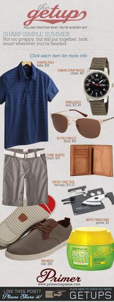 The Getup: Sharp Simple Summer   Primer