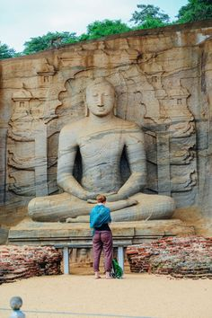 The Ancient City Of Polonnaruwa In Sri Lanka // Part 2 Of 2 - Hand Luggage Only - Travel, Food & Photography Blog