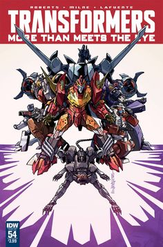 eXpertComics offers a wide choice of IDW products, like the Transformers: More Than Meets the Eye  #54. Visit eXpertComics' website to discover thousands of collectibles.