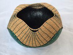 Gourd bowl by Susan Ashley etsy.com/txweaver